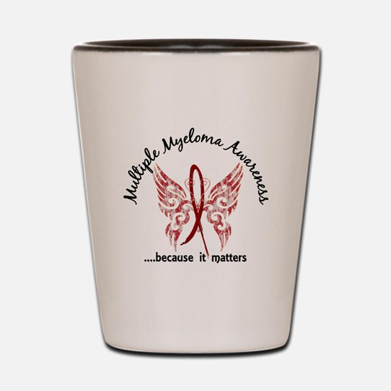 Multiple Myeloma Butterfly 6.1 Shot Glass