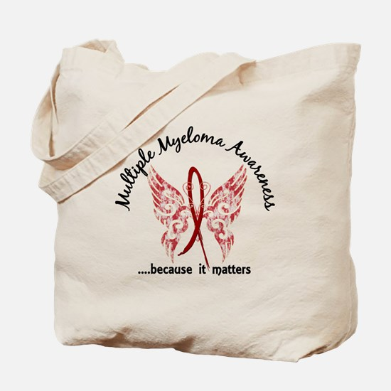 Multiple Myeloma Butterfly 6.1 Tote Bag