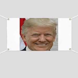 President Donald Trump Banner