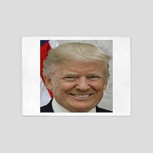 President Donald Trump 5'x7'Area Rug