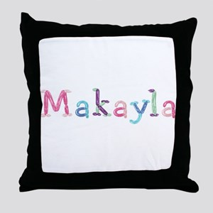 Makayla Princess Balloons Throw Pillow