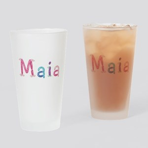 Maia Princess Balloons Drinking Glass