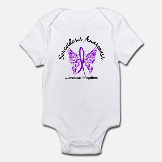 Sarcoidosis Butterfly 6.1 Infant Bodysuit