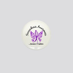 Sarcoidosis Butterfly 6.1 Mini Button