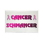 CANCER SCHMANCER Rectangle Magnet (100 pack)