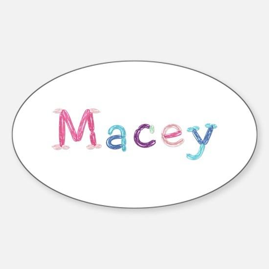 Macey Princess Balloons Oval Decal