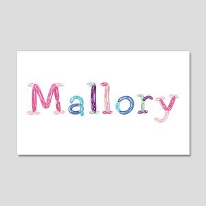 Mallory Princess Balloons 20x12 Wall Peel