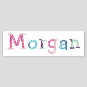 Morgan Princess Balloons Bumper Sticker