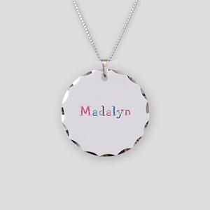 Madalyn Princess Balloons Necklace Circle Charm