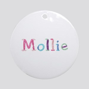 Mollie Princess Balloons Round Ornament