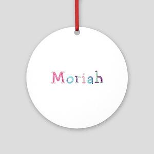 Moriah Princess Balloons Round Ornament