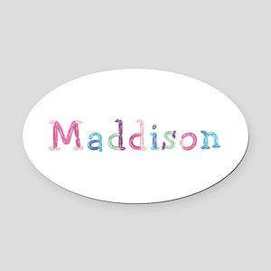 Maddison Princess Balloons Oval Car Magnet