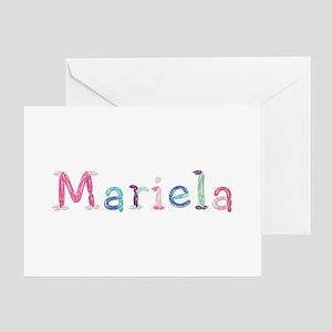 Mariela Princess Balloons Greeting Card