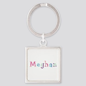 Meghan Princess Balloons Square Keychain