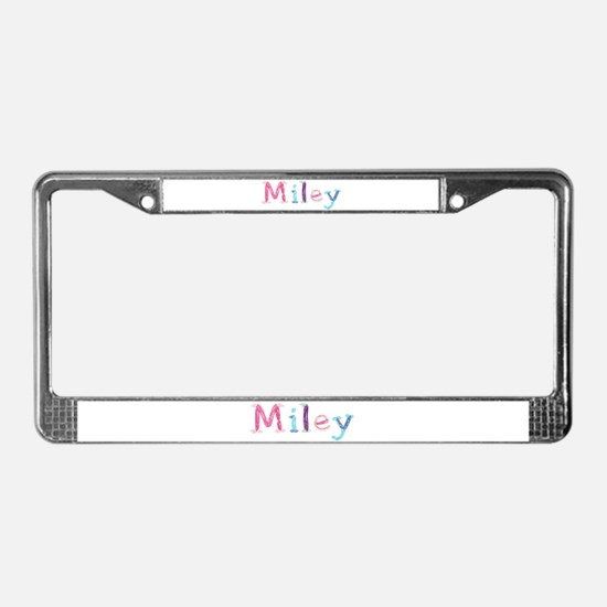 Miley Princess Balloons License Plate Frame