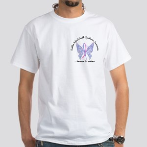 SIDS Butterfly 6.1 White T-Shirt