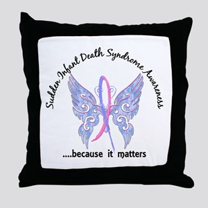 SIDS Butterfly 6.1 Throw Pillow