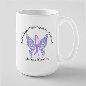 SIDS Butterfly 6.1 Large Mug