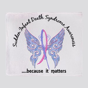 SIDS Butterfly 6.1 Throw Blanket