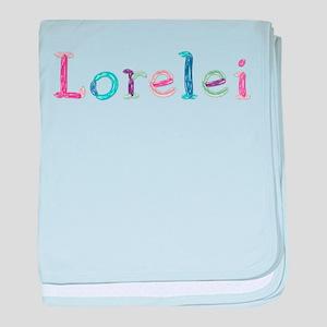 Lorelei Princess Balloons baby blanket
