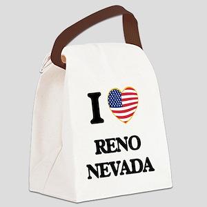 I love Reno Nevada Canvas Lunch Bag