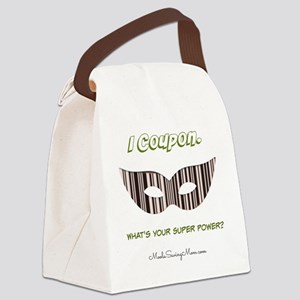 I Coupon. Canvas Lunch Bag