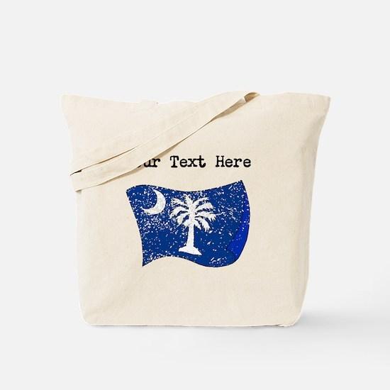 South Carolina State Flag (Distressed) Tote Bag