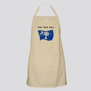 South Carolina State Flag (Distressed) Apron