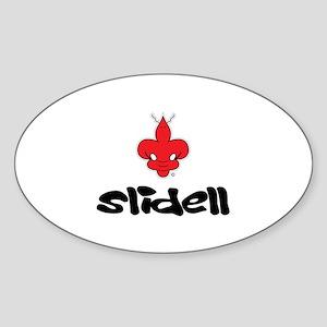 SLIDELL Oval Sticker