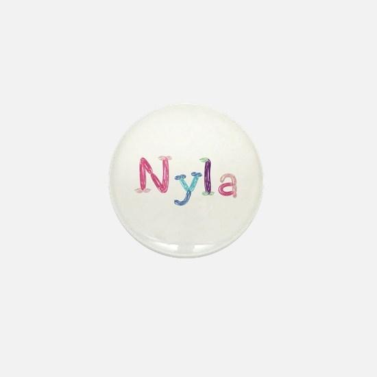 Nyla Princess Balloons Mini Button