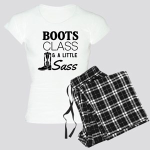 Boots Class And A Little Sass Pajamas