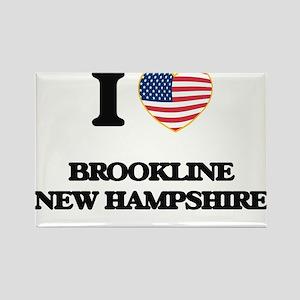 I love Brookline New Hampshire Magnets