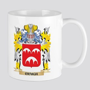 Craigh Coat of Arms - Family Crest Mugs