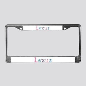 Lexus Princess Balloons License Plate Frame