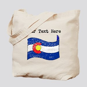 Colorado State Flag (Distressed) Tote Bag