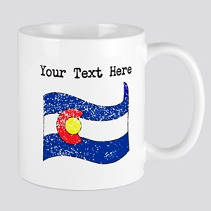 Colorado State Flag (Distressed) Mugs