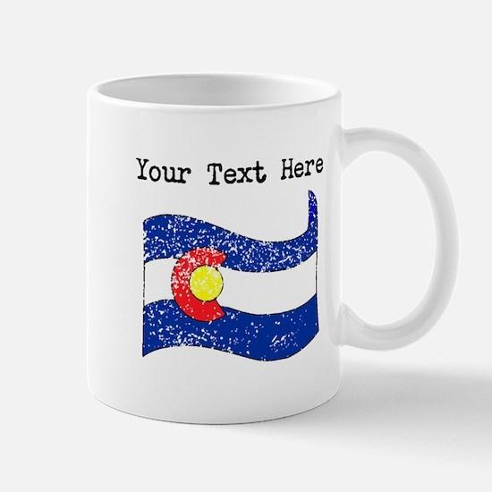 Colorado State Flag (Distressed) Mugs