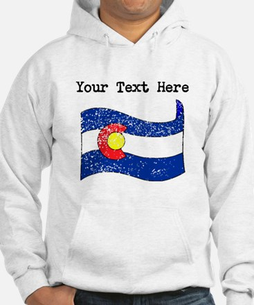 Colorado State Flag (Distressed) Hoodie