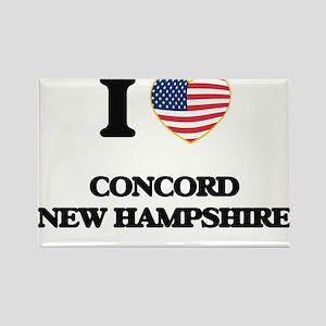 I love Concord New Hampshire Magnets