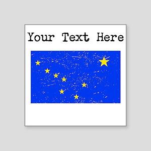 Alaska State Flag (Distressed) Sticker