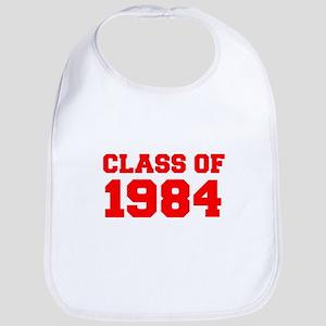 CLASS OF 1984-Fre red 300 Bib