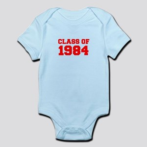 CLASS OF 1984-Fre red 300 Body Suit