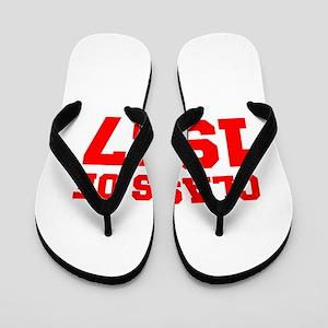 CLASS OF 1987-Fre red 300 Flip Flops
