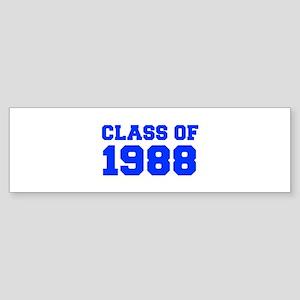 CLASS OF 1988-Fre blue 300 Bumper Sticker