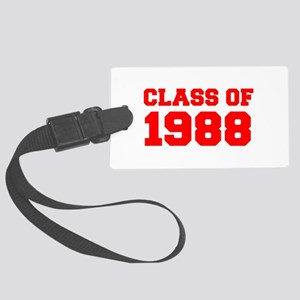 CLASS OF 1988-Fre red 300 Luggage Tag
