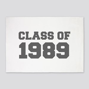 CLASS OF 1989-Fre gray 300 5'x7'Area Rug