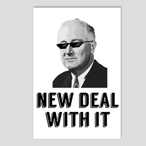 New Deal With It Postcards (Package of 8)