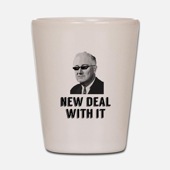 New Deal With It Shot Glass