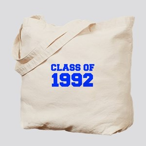 CLASS OF 1992-Fre blue 300 Tote Bag