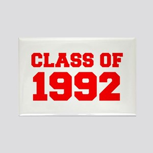 CLASS OF 1992-Fre red 300 Magnets